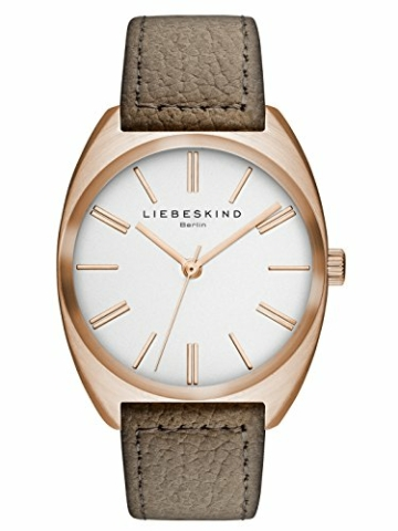 Liebeskind Berlin Damen-Armbanduhr Nubuk Analog Quarz LT-0018-LQ - 1