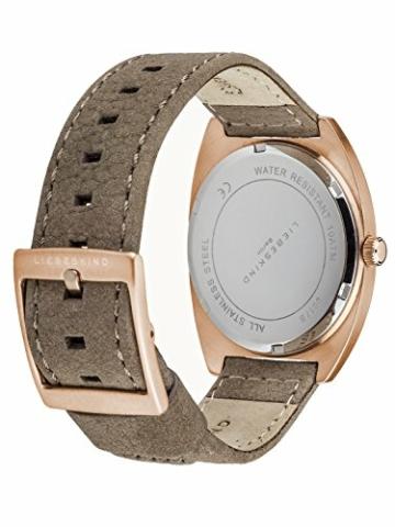 Liebeskind Berlin Damen-Armbanduhr Nubuk Analog Quarz LT-0018-LQ - 2