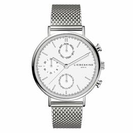 Liebeskind Berlin Damen Multi Zifferblatt Quarz Uhr mit Edelstahl Armband LT-0191-MM - 1