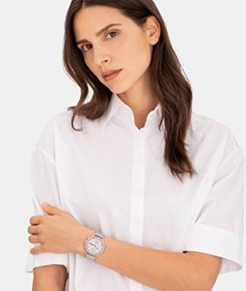 Liebeskind Berlin Damen Multi Zifferblatt Quarz Uhr mit Edelstahl Armband LT-0191-MM - 5