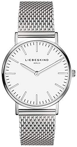 Liebeskind Berlin Set Armbanduhr und Armband (Silber) - 2