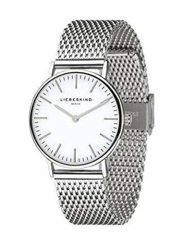 Liebeskind Berlin Set Armbanduhr und Armband (Silber) - 3
