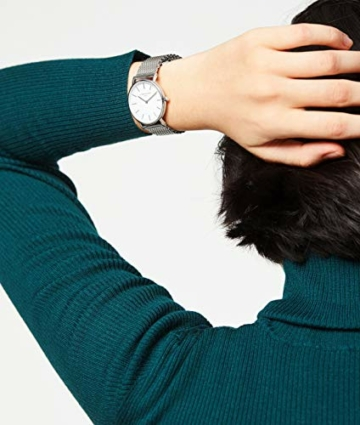 Liebeskind Berlin Set Armbanduhr und Armband (Silber) - 4