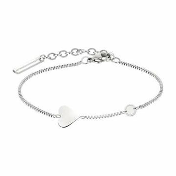 Liebeskind Berlin Set Armbanduhr und Armband (Silber) - 5