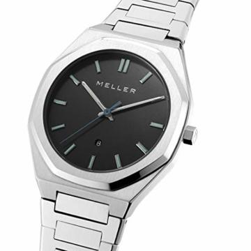 MELLER - Daren Black Silver - Herren- und Damenuhr - 2