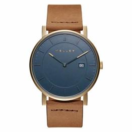 Meller Unisex Erwachsene Analog Quarz Uhr mit Leder Armband 1O-1CAMEL - 1