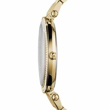 Michael Kors Damen Analog Quarz Uhr mit Edelstahl Armband MK3191 - 3