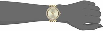 Michael Kors Damen Analog Quarz Uhr mit Edelstahl Armband MK3191 - 4