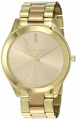 Michael Kors Damen Analog Quarz Uhr mit Edelstahl Armband MK3493 - 1