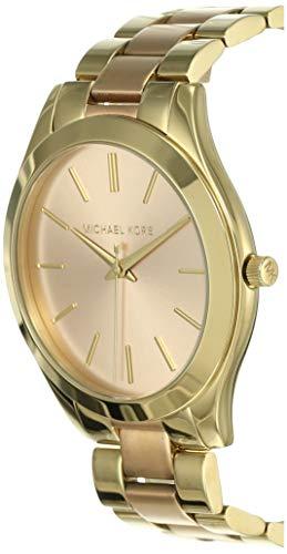 Michael Kors Damen Analog Quarz Uhr mit Edelstahl Armband MK3493 - 3