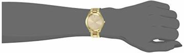 Michael Kors Damen Analog Quarz Uhr mit Edelstahl Armband MK3493 - 5