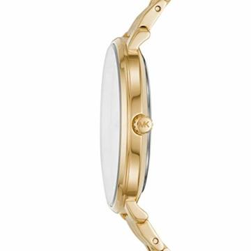 Michael Kors Damen Analog Quarz Uhr mit Edelstahl Armband MK3898 - 2