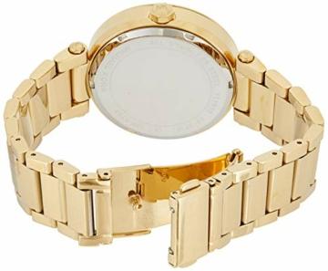 Michael Kors Damen Analog Quarz Uhr mit Edelstahl Armband MK5784 - 2