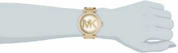 Michael Kors Damen Analog Quarz Uhr mit Edelstahl Armband MK5784 - 5