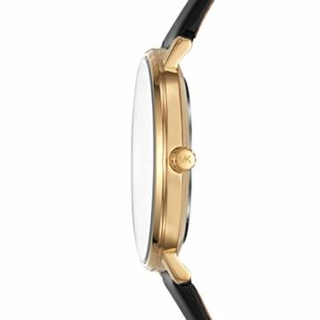 Michael Kors Damen Analog Quarz Uhr mit Leder Armband MK2747 - 2