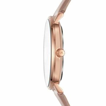 Michael Kors Damen Analog Quarz Uhr mit Leder Armband MK2748 - 2
