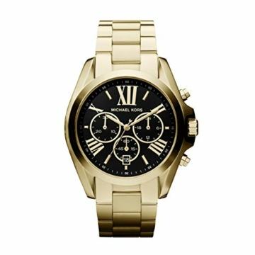 Michael Kors Damen Chronograph Quarz Uhr mit Edelstahl Armband MK5739 - 1
