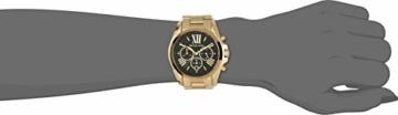 Michael Kors Damen Chronograph Quarz Uhr mit Edelstahl Armband MK5739 - 3