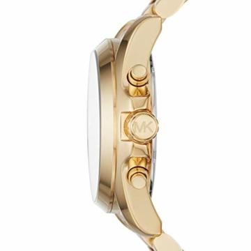 Michael Kors Damen Chronograph Quarz Uhr mit Edelstahl Armband MK6359 - 2