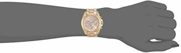 Michael Kors Damen Chronograph Quarz Uhr mit Edelstahl Armband MK6359 - 4