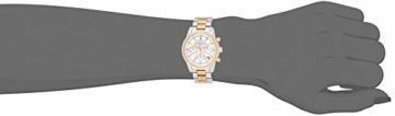 Michael Kors Damen Chronograph Quarz Uhr mit Edelstahl Armband MK6474 - 4
