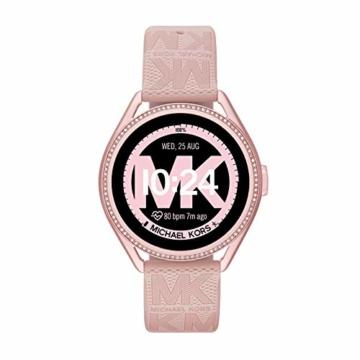 Michael Kors Damen Gen 5E MKGO Touchscreen Smartwatch mit Lautsprecher, Herzfrequenz, GPS, NFC und Smartphone Benachrichtigungen - 4