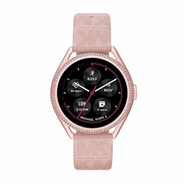 Michael Kors Damen Gen 5E MKGO Touchscreen Smartwatch mit Lautsprecher, Herzfrequenz, GPS, NFC und Smartphone Benachrichtigungen - 1