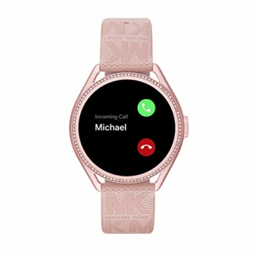 Michael Kors Damen Gen 5E MKGO Touchscreen Smartwatch mit Lautsprecher, Herzfrequenz, GPS, NFC und Smartphone Benachrichtigungen - 5