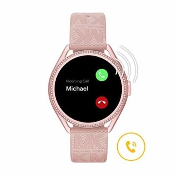 Michael Kors Damen Gen 5E MKGO Touchscreen Smartwatch mit Lautsprecher, Herzfrequenz, GPS, NFC und Smartphone Benachrichtigungen - 6