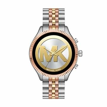 Michael Kors Damen Smartwatch mit Edelstahl Armband MKT5080 - 4