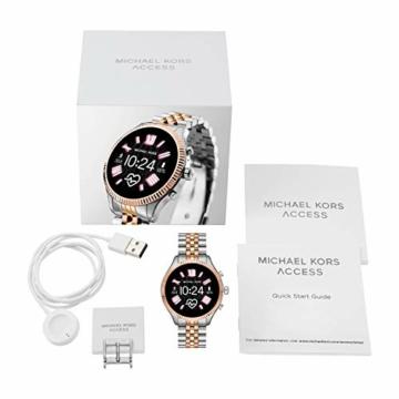 Michael Kors Damen Smartwatch mit Edelstahl Armband MKT5080 - 6