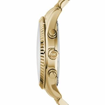 Michael Kors Herren Chronograph Quarz Uhr mit Edelstahl Armband MK8281 - 2