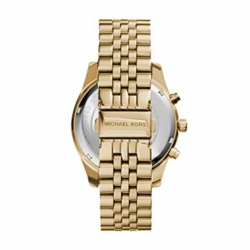 Michael Kors Herren Chronograph Quarz Uhr mit Edelstahl Armband MK8281 - 3