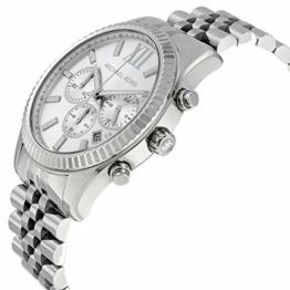 Michael Kors Herren-Uhren Analog Quarz One Size Silber 32001926 - 1