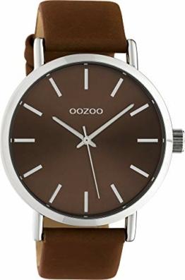 Oozoo Damenuhr mit Lederband 42 MM Colours of Oozoo Unicolor Braun C10450 - 1