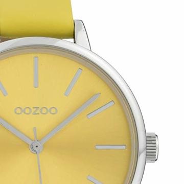 Oozoo Damenuhr mit Lederband Small Color Line 36 MM Gelb C10256 - 2