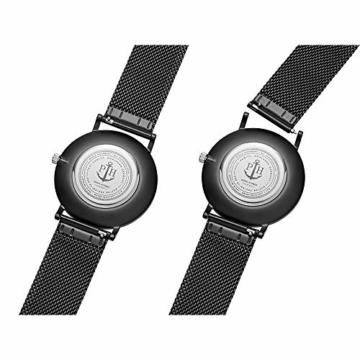 PAUL HEWITT Geschenk für Männer und Frauen Perfect Match - Geschenk Box mit Armbanduhr (Sailor Line) und Armband (PHREP), Damen und Herren - 6