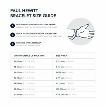 PAUL HEWITT Geschenk für Männer und Frauen Perfect Match - Geschenk Box mit Armbanduhr (Sailor Line) und Armband (PHREP), Damen und Herren - 7