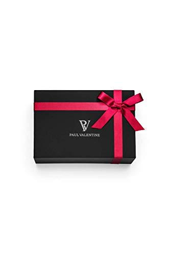 Paul Valentine - Damenuhr Geschenkbox Multifunctional Geschenkbox mit hochwertigem Faye Sleek Bracelet Silver oder Roségold Geschenkset Uhren-Box mit passendem Armband (Multifunctional Khaki Box) - 2