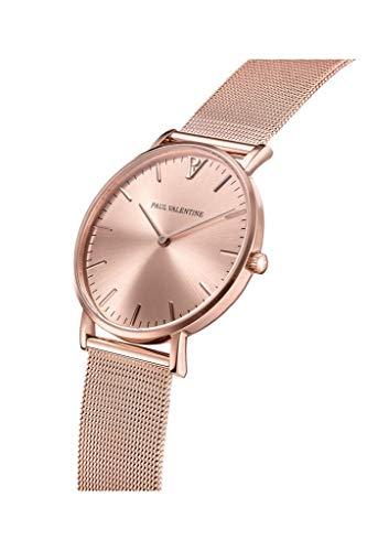 Paul Valentine - Damenuhr mit Mesh Armband - 32, 36 oder 38mm - Edle Damen Uhr mit japanischem Quarzwerk - Spritzwassergeschützt - Armbanduhr für Damen - 2