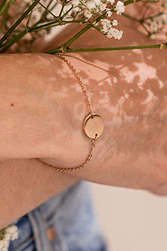 Paul Valentine - Damenuhr und Armband Set - Blue Mesh und Circle Bracelet Set - Edle Damen Uhr mit japanischem Quarzwerk mit passendem Armband - Schmuck Geschenk Frauen - 6