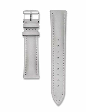 Rosefield Damen Uhr The Bowery: Roségold 38mm Rundes Gehäuse - Graues Band BWGS-B10 - 2