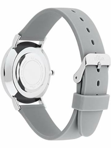s.Oliver Damen Analog Quarz Armbanduhr mit Silikonarmband SO-3707-PQ - 4