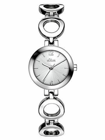 s.Oliver Damen Analog Quarz Armbanduhr SO-3013-MQ - 1