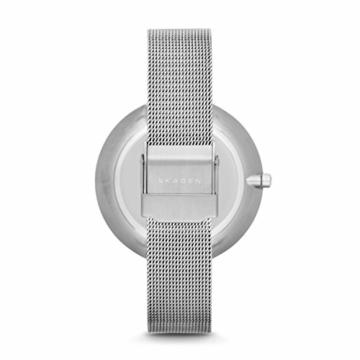 Skagen Damen Analog Quarz Uhr mit Edelstahl Armband SKW2140 - 3