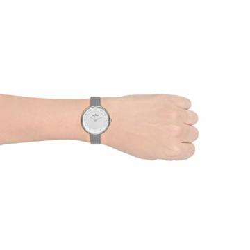 Skagen Damen Analog Quarz Uhr mit Edelstahl Armband SKW2140 - 5