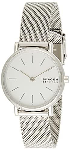 Skagen Damen Analog Quarz Uhr mit Edelstahl Armband SKW2692 - 1