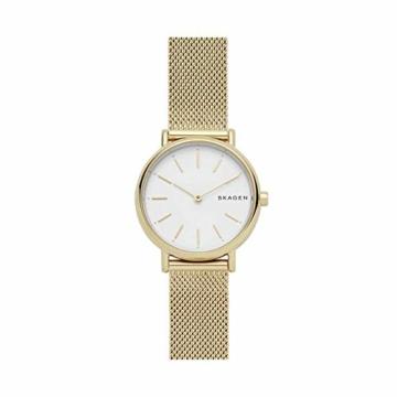 Skagen Damen Analog Quarz Uhr mit Edelstahl Armband SKW2693 - 1