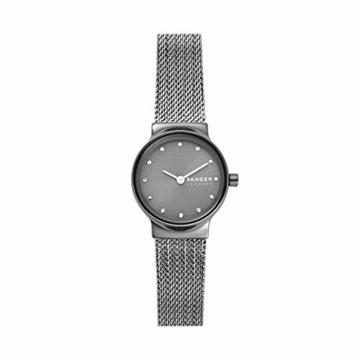 Skagen Damen Analog Quarz Uhr mit Edelstahl Armband SKW2700 - 1