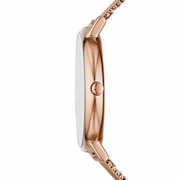 Skagen Damen Analog Quarz Uhr mit Edelstahl Armband SKW2784 - 2